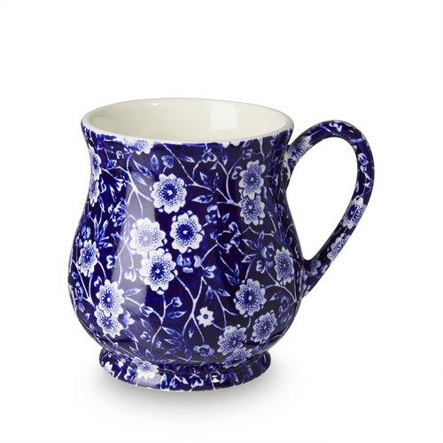 Burleigh Pottery Calico Blue Sandringham Mug