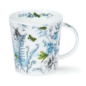 Dunoon Lomond Hidden Garden Green Mug