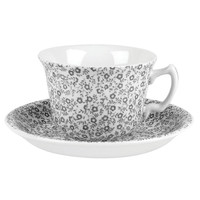 Dove Grey Felicity Teacup & Saucer