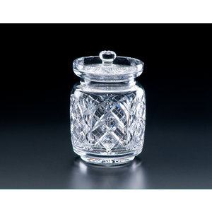 "Heritage Crystal Heritage Crystal Cathedral 6"" Biscuit Barrel"