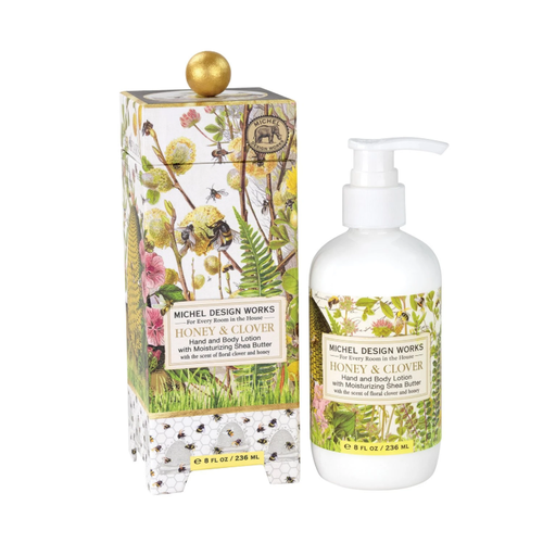 Michel Design Works Honey & Clover Lotion