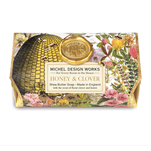 Michel Design Works Honey & Clover Soap