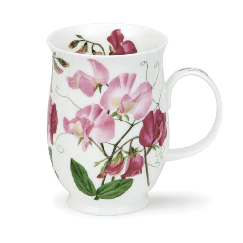 Dunoon Suffolk Sweet Peas Light Pink Mug