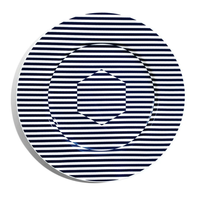 Richard Brendon Superstripe Coupe Plate