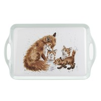 Wrendale Large Melamine Tray - Fox