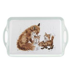Wrendale Wrendale Large Melamine Tray - Fox