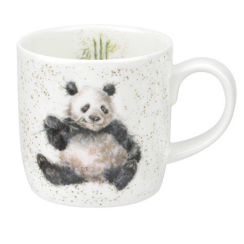 Wrendale Wrendale Bamboozled Panda Mug Large