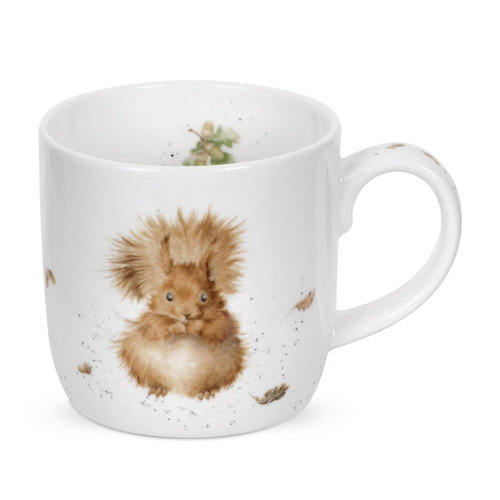 Wrendale Wrendale Treetop Redhead Squirrel Mug Large