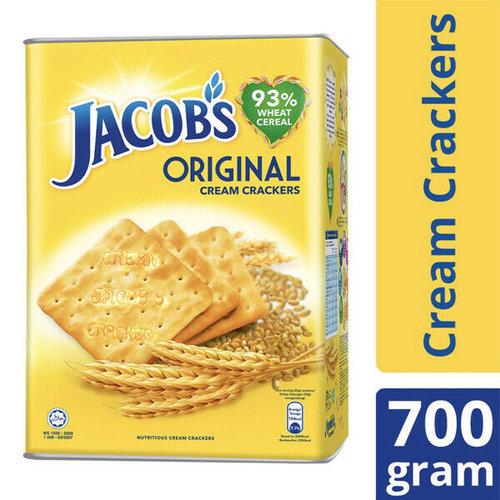 Jacob's Jacobs Cream Crackers Tin 700g
