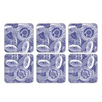 Pimpernel Blue Room Coasters