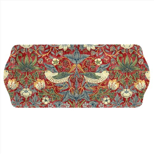 Pimpernel Strawberry Thief Red Sandwich Tray