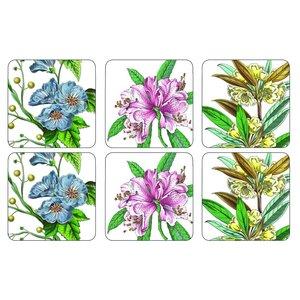 Pimpernel Pimpernel Stafford Blooms Coasters
