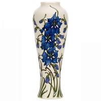 Moorcroft Tall Delphinium Vase