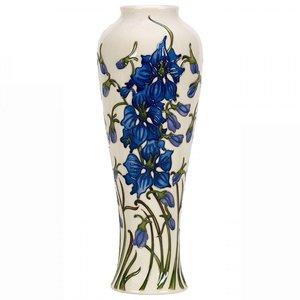 Moorcroft Pottery Moorcroft Tall Delphinium Vase