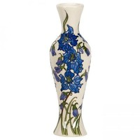 Moorcroft Delphinium  Small Vase