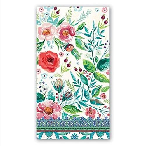 Michel Design Works Michel Wild Berry Blossom Hostess Napkin
