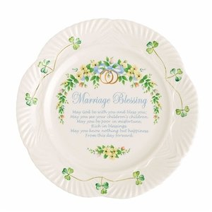 Belleek Belleek Marriage Plate