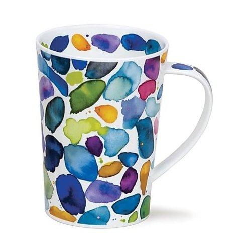 Dunoon Argyll Blobs Mug - Blue
