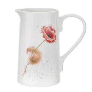 Wrendale Mouse & Poppy Jug