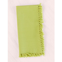 Set of 4 Essential Light Green Napkins