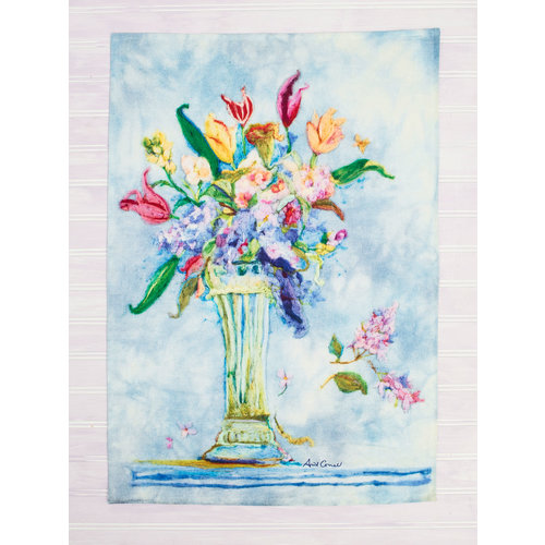 April Cornell Spring Romance Tea Towel