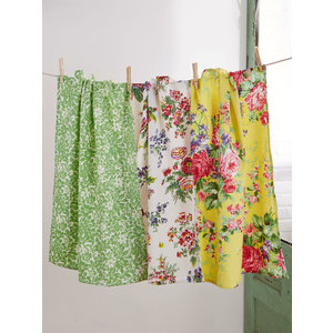 April Cornell Garden Patchwork Tea Towel Bundle