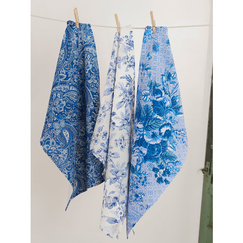 April Cornell Blue Sky Tea Towel Bundle