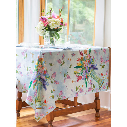 April Cornell Spring Romance Breakfast Tablecloth
