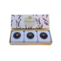 The English Soap Co. English Lavender 3xSoap 100g