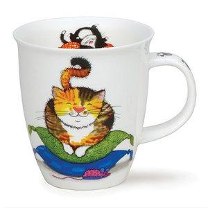 Dunoon Nevis Comfy Cats Tortoiseshell Mug