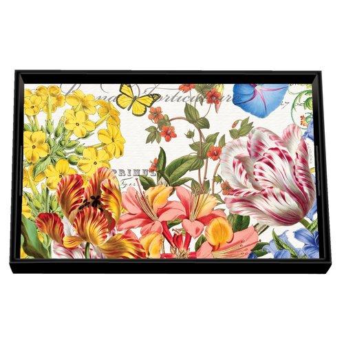 Michel Design Works Summer Days Decoupage Vanity Tray