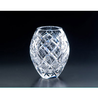 Heritage Crystal Cathedral 8.5 in. Bulb Vase