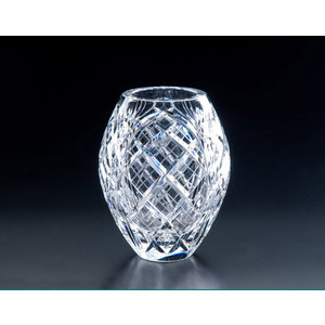 Heritage Crystal Heritage Crystal Cathedral 8.5 in. Bulb Vase