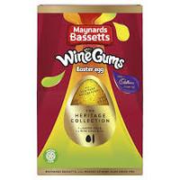 Bassetts Wine Gum Cadbury Easter Egg 162g