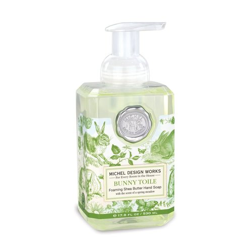 Michel Design Works Bunny Toile Foaming Soap
