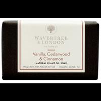 Wavertree & London Vanilla, Cedarwood, & Cinnamon Soap