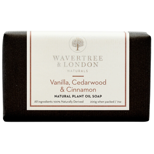Wavertree & London Wavertree & London Vanilla, Cedarwood, & Cinnamon Soap