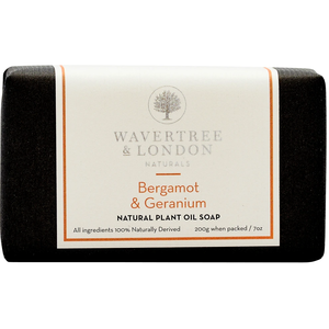 Wavertree & London Wavertree & London Bergamot & Geranium Soap