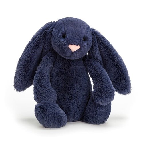 Jellycat Bashful Navy Bunny Medium