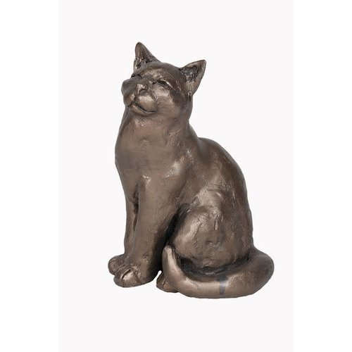 Frith Sculpture Frith Ellie Sitting Cat S196