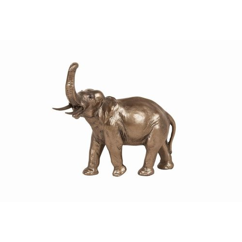 Frith Sculpture Frith Elephant Trunk up MK008