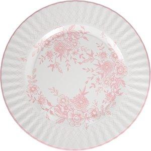 Talking Tables Large Party Porcelain Plates 8 Count
