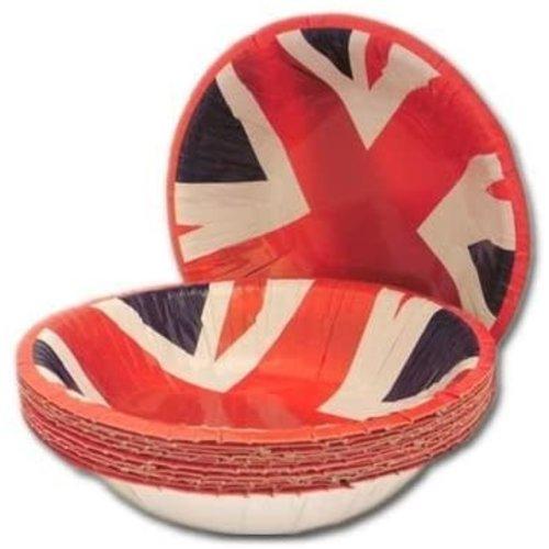 Union Jack Paper Bowls