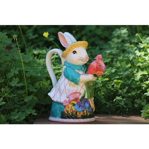 Blue Sky Bunny Teapot