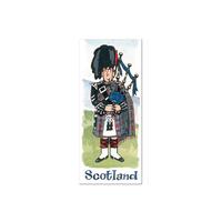 Scottish Piper Major Bookmark