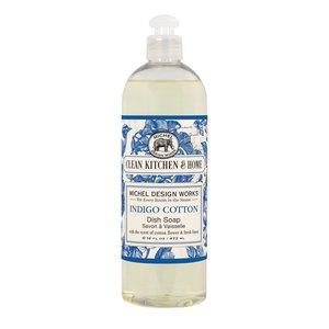 Michel Design Works Indigo Cotton Dish Soap