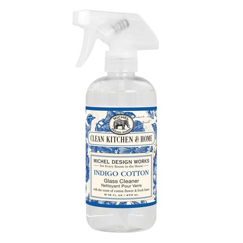 Michel Design Works Michel Indigo Cotton Glass Cleaning Spray