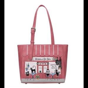 Vendula Cat Cafe Shopper Bag