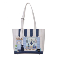 Seaside Souvenirs Shopper Bag