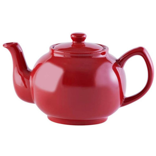 Price & Kensington Bright Red 6 Cup Teapot